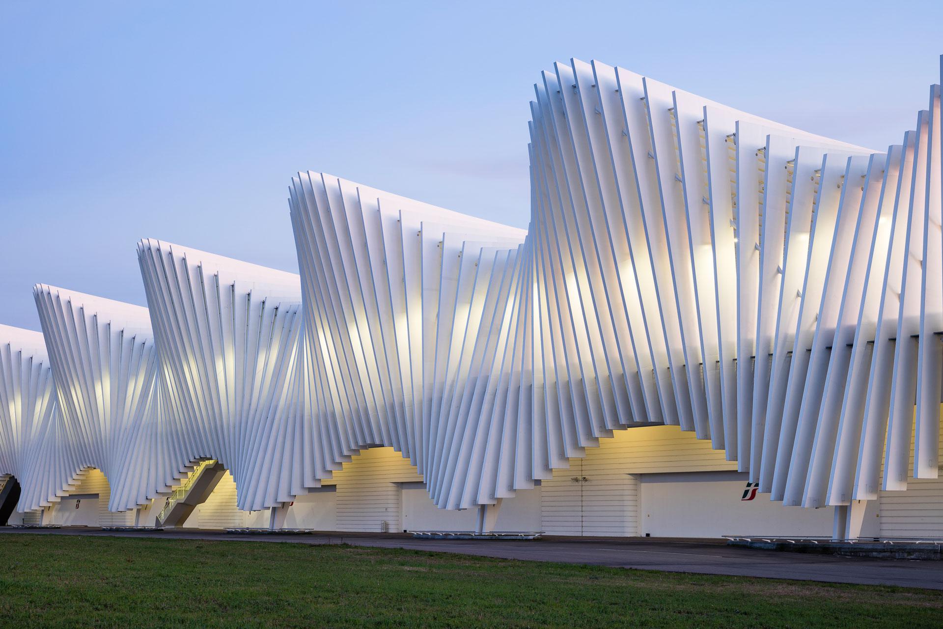 Reggio Emilia Stazione Mediopadana / Reggio Emilia (Gallery) - Santiago  Calatrava – Architects & Engineers