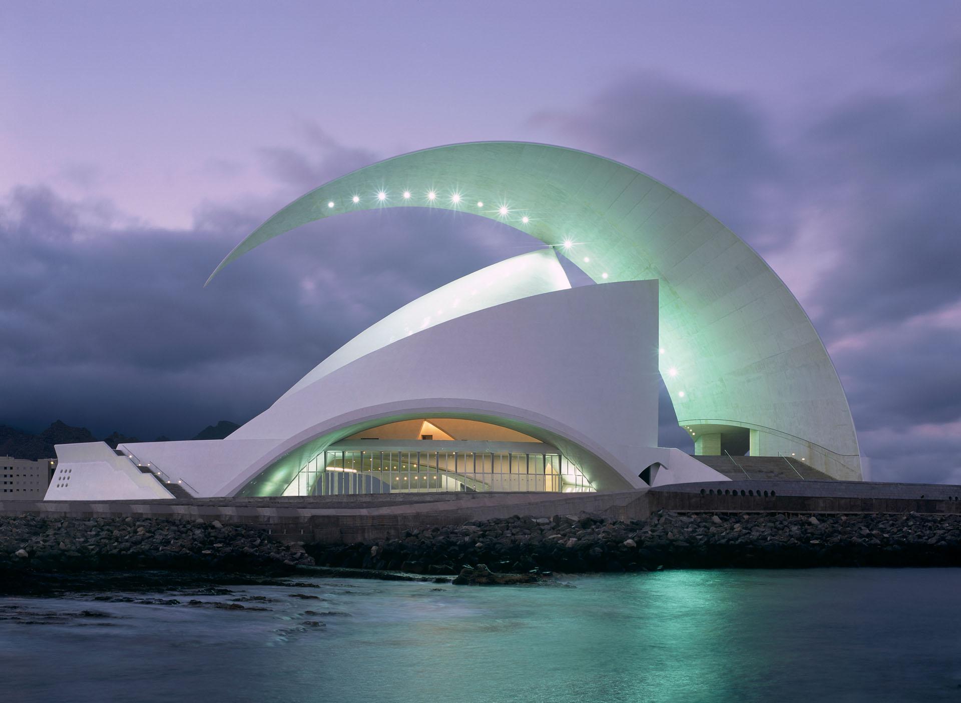 Adan Martin Auditorio de Tenerife / Santa Cruz de Tenerife ...  Adan Martin Aud...