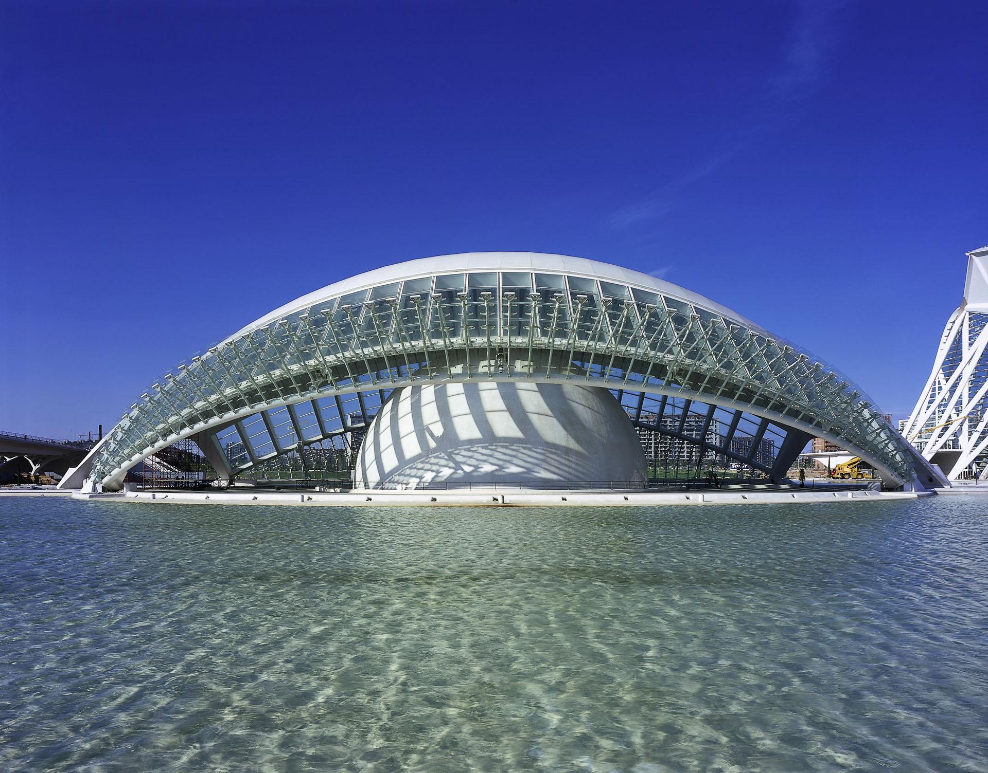Ciudad De Las Artes Y De Las Ciencias Valencia Gallery Santiago Calatrava Architects Engineers